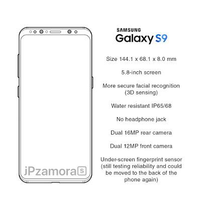 مواصفات هواتف S9