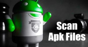 How to Scan APK Files